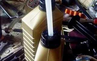 Замена масла в коробке шевроле лачетти