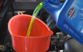 Замена охлаждающей жидкости ваз 2114