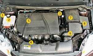 Реле бензонасоса форд фокус 2