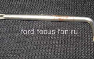 Как снять панель приборов форд фокус 2