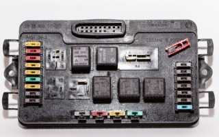 Монтажный блок ваз 2109 карбюратор